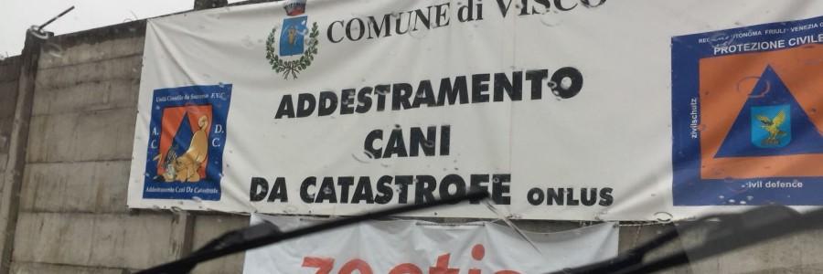 Addestramento Campo Macerie di Visco (UD)